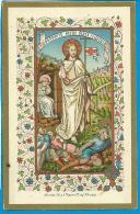 Holycard   De Vyvere - Peteyt  Brugge   Maria Van De Put  1893 - Devotion Images