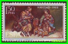 ESPAÑA  SELLO   AÑO 1966  NAVIDAD - 1961-70 Nuevos & Fijasellos