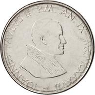 Cité Du Vatican, John Paul II, 50 Lire, 1987, Roma, SPL+, Stainless Steel, K... - Vaticano (Ciudad Del)