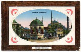 CPA TURQUIE - Constantinople - Fontaine Guillaume II - Gaufré - Türkei