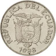 Équateur, Sucre, Un, 1988, SUP, Nickel Clad Steel, KM:89 - Equateur