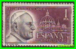 ESPAÑA - SELLO   AÑO 1962  CONCILIO ECUMÉNICO - 1961-70 Nuevos & Fijasellos