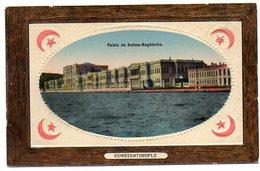 CPA TURQUIE - Palais De Dolma-Baghtsche - Gaufré - Türkei