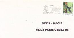 Flamme Du 23/9/1991-Bureau Hydrographique International 1991-Monte Carlo - Monaco