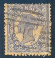 Queensland Numeral Cancel 219 WINTON On SG 234. - 1860-1909 Queensland