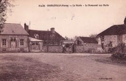 CHARLEVILLE(51)neuve-la Mairie-le Monument Aux Morts-avec Son Négatif-cliché Original - Altri Comuni