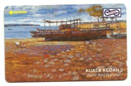 Malaysia - Tessera Telefonica Da 5 Dollars T72 - Barche