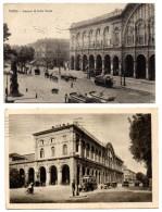 CPA - Italie  - Torino - Stazione - 2 Cartes - Stazione Porta Nuova