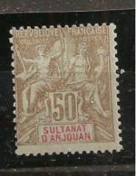 Anjouan1900-7:Yvert 19mh**