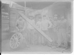 1914-1915 Canons Français Du 8ème Génie Radiotélégraphistes Voiture Et Son équipage 1 Photo 1914-1918 14-18 Ww1 Wk1 - Guerra, Militari