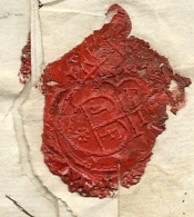 Province Du Languedoc (Gard) - Bagnols Pour L'isle En Comtat. MP Lenain 3. 1790 - Marcophilie (Lettres)