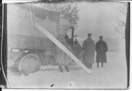 1915-1916 Soldats Français Devant Leur Véhicule Camion Matricule 11 0462  1 Photo 1914-1918 14-18 Ww1 Wk1 - War, Military