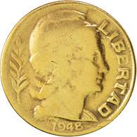 Argentine, 5 Centavos, 1948, TB+, Aluminum-Bronze, KM:40 - Argentine