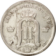 Suède, Oscar II, 50 Öre, 1875, TB+, Argent, KM:740 - Suède