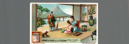 Cromo Liebig  MERE ET ENFANT AU JAPON - Liebig