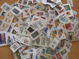LOT 0.250 G KILOWARE ALLEMAGNE ORIENTALE DDR SUR FRAGMENTS TOUTES PERIODES - Briefmarken