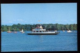 CPSM Neuve Etats Unis Car Ferries M. V. MT. Marcy  Lake Champlain - Etats-Unis
