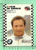 CPM, CHAMPIONNAT DU MONDE FORMULE 1 :Pilote Elio De Angelis Italie - Grand Prix / F1