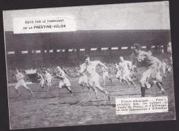 Photo Prestine Velox 1931: 1er Match à Colombes  France -Allemagne De Rugby - Rugby