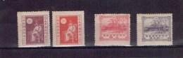 TIMBRES JAPON - X-XX - N°158-161 - TB - 1920 - Nuevos