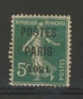 +++ A SAISIR  PARFAIT  N°26  PREO  NEUF**  Côte 750€    VOIR SCAN RECTO-VERSO - France