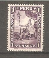 Sello Nº 302 Peru - Perù