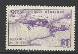 """FR Aerien YT 7 """" Traversée De La Manche, Louis Blériot """" 1934 Neuf** - Posta Aerea"""