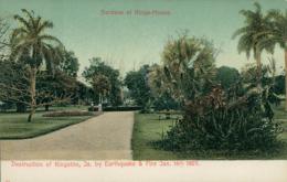JM KINGSTON / Gardens At Kings-House / CARTE COULEUR - Autres