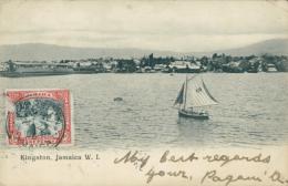 JM KINGSTON / Un Voilier Sur L'eau / - Autres