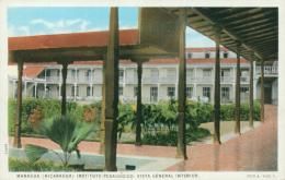 NI MANAGUA / Instituto Pedagogico, Vista General Interior / CARTE COULEUR - Nicaragua