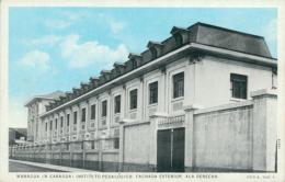 NI MANAGUA / Instituto Pedagogico, Fachada Exterior Ala Derecha / CARTE COULEUR - Nicaragua