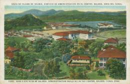 PA PANAMA DIVERS / Vista De Pajaro De Balboa, Edificio De Admibistracion En El Centro / CARTE COULEUR - Panama