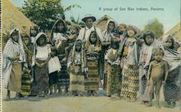 PA PANAMA DIVERS / A Group Of San Blas Indians / CARTE COULEUR - Panama