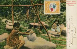 PA PANAMA DIVERS / Natives Girls Mealing Corn / CARTE COULEUR - Panama