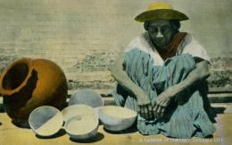 PA PANAMA DIVERS / A Vendor Of Pottery / CARTE COULEUR GLACEE - Panama