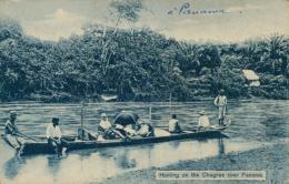 PA PANAMA DIVERS / Hunting On The Chagres River Panama / - Panama