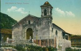 PA PANAMA DIVERS / Old Church At Taboga / CARTE COULEUR - Panama