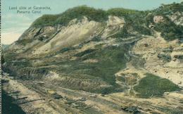 PA PANAMA DIVERS / Land Slide At Cucaracha? Panama Canal / CARTE COULEUR - Panama