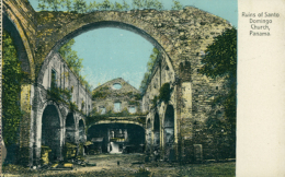 PA PANAMA DIVERS / Ruins Of Santo Domingo Church / CARTE COULEUR - Panama