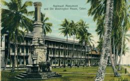 PA COLON / Aspinwall Monument And Old Washington House / CARTE COULEUR - Panama