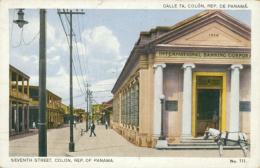 PA COLON / Seventh Street / CARTE COULEUR - Panama
