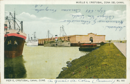 PA CRISTOBAL / Zona Del Canal / CARTE COULEUR - Panama