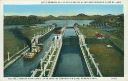 PA MIRAFLORES / Vista General De Las Esclusas De Miraflores Mirando Hacia El Lago / CARTE COULEUR - Panama