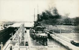 PA MIRAFLORES / U.S Tennessee In Miraflores Locks / CARTE GLACEE - Panama