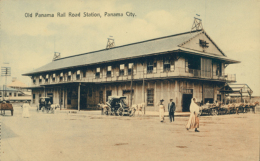 PA PANAMA / Old Panama Rail Road Station / CARTE COULEUR - Panama