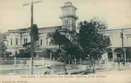 SV SAN SALVADOR / Casa Blanca Y Parque Duenas San Salvador / - Salvador