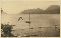 TT TRINIDAD AND TOBAGO DIVERS  / / Bathing Pool At Point Baleine Trinidad / - Trinidad