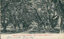 TT PORT OF SPAIN / Entrance To Saint-James Barracks / - Autres
