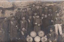CARTE PHOTO NON SITUEE - Groupe De Militaires - Fanfare - Classe 1901 - 16 Sur Col Et Képi - Postkaarten