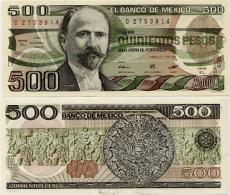 MEXICO       500 Pesos       P-79b       7.8.1984       UNC - Mexique